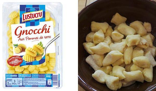 Gnocchi Maison VS Gnocchi Lustucru